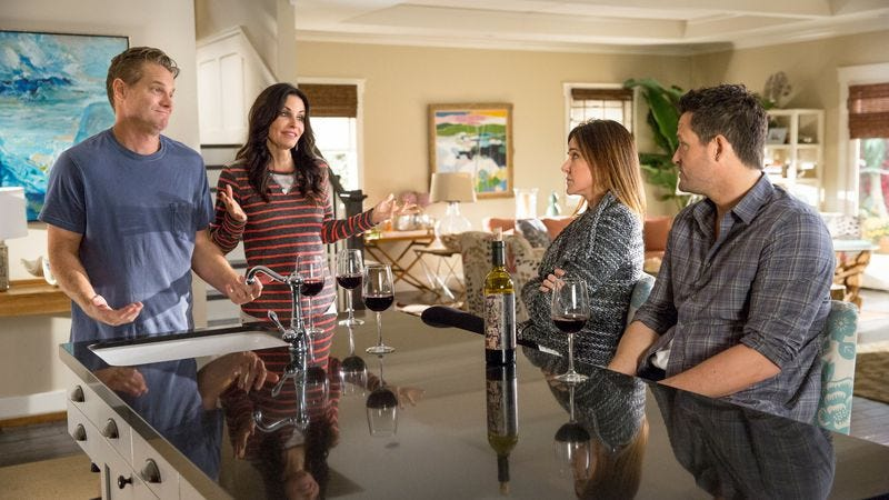 """Illustration for article titled Cougar Town: """"We Stand A Chance"""""""
