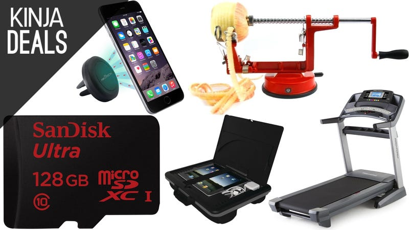 Illustration for article titled Today's Best Deals: Flash Storage, Treadmill, Lap Desk, and More