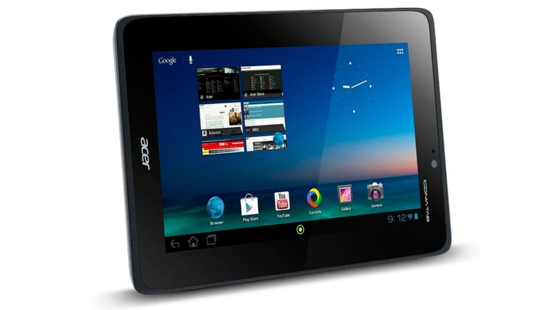 Illustration for article titled Acer's 7-Inch Android Tablet Will Cost $230