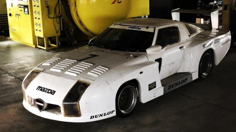 Illustration for article titled Missing Mazda RX-7 Racer Found 35 Years After Running in Le Mans