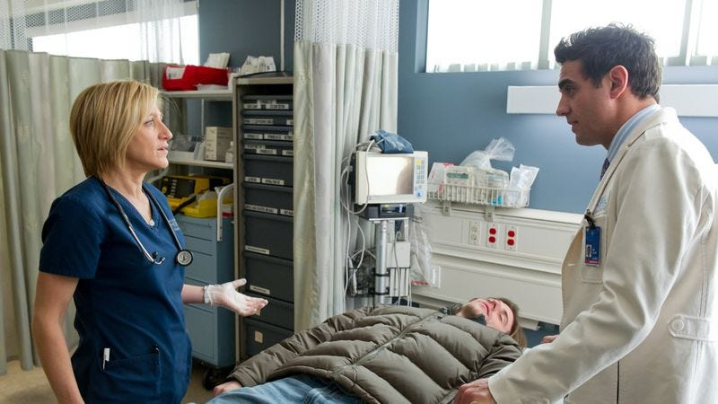 """Illustration for article titled Nurse Jackie: """"Chaud & Froid"""""""