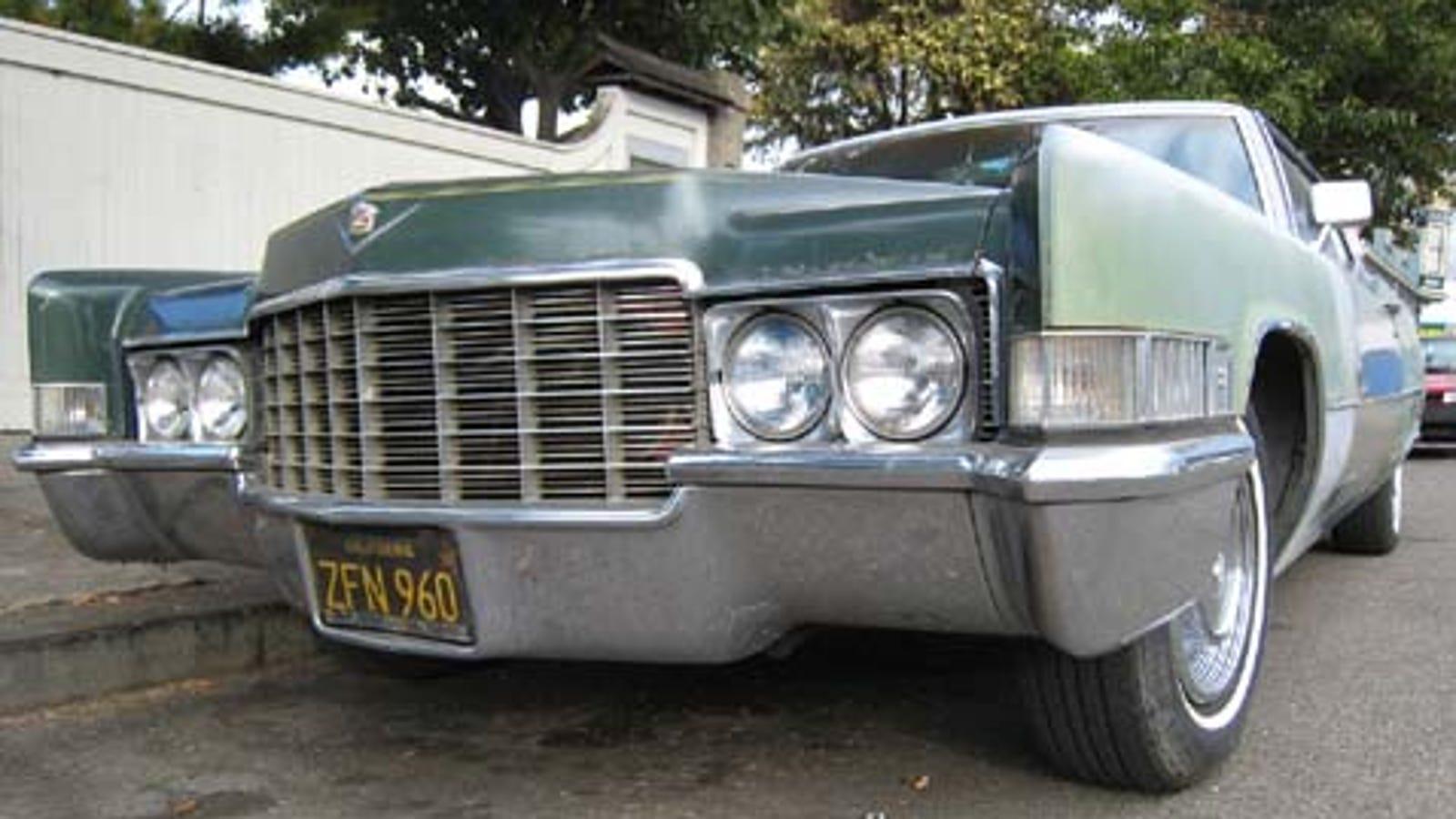 1969 Cadillac Calais 50s V8 Engine