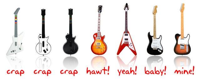 guitar rising for real guitar heroes. Black Bedroom Furniture Sets. Home Design Ideas