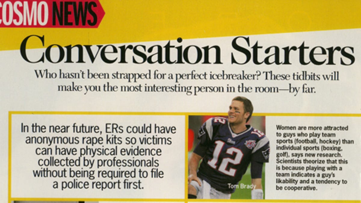 Cosmo's August 'Conversation Starter' Might Start Some Pretty