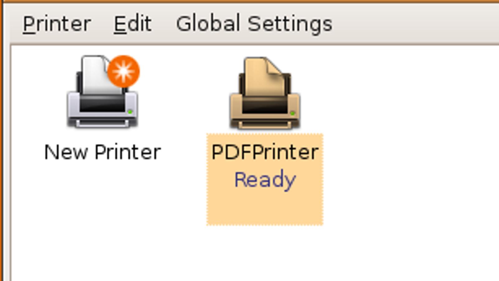 Pdf Printer Ubuntu