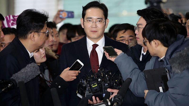 Samsung heir Lee Jae-yong. Photo: Getty