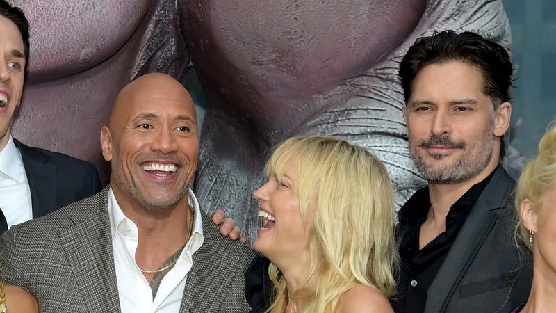 Illustration for article titled Let's all pray for a Dwayne Johnson/Joe Manganiello D&Dmovie, if only because it would drive Vin Diesel insane