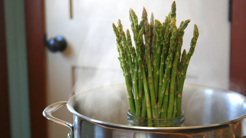 Illustration for article titled The best method for cooking asparagus is 2,000 years old