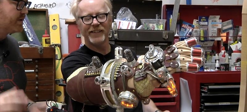 Illustration for article titled Adam Savage Explains Extensively How He Built His Hellboy Mecha-Glove