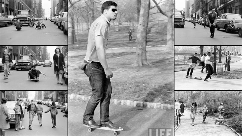 Illustration for article titled This 1960s Skater Looks Like a Time Traveler From 2012