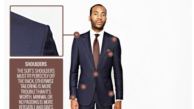 Don't Buy a Suit Unless the Shoulders Fit Perfectly (and Other
