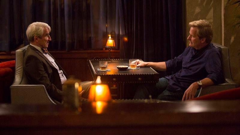 Sam Waterston, Jeff Daniels