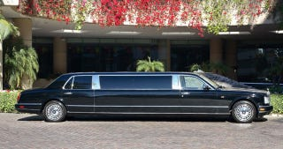 Illustration for article titled Michael Jackson's Tacky Rolls Royce Limo Going To Auction