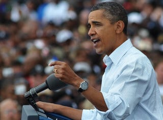 President Obama's Labor Day Speech in Detroit (Getty Images)