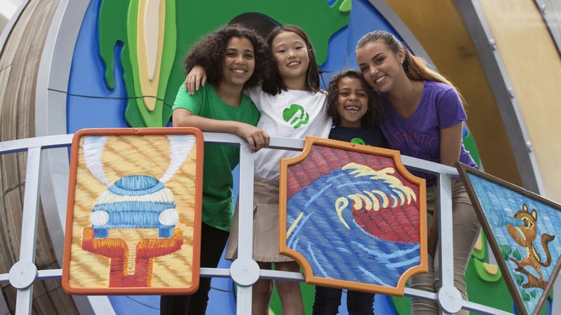 Illustration for article titled The Girl Scouts Are Getting Their First Float in the Macy's Thanksgiving Day Parade