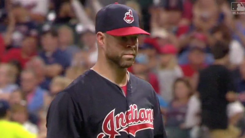 Yan Gomes walk off three-run homer rewards Corey Kluber's stellar start