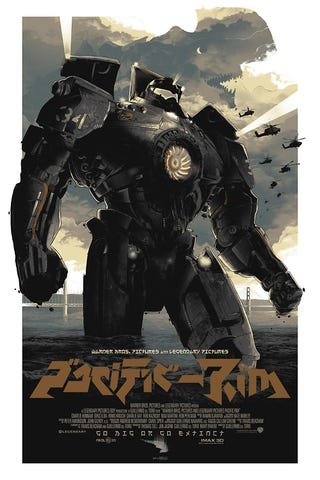 Illustration for article titled Another cool Pacific Rim poster