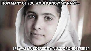 Illustration for article titled Interesting take on Malala