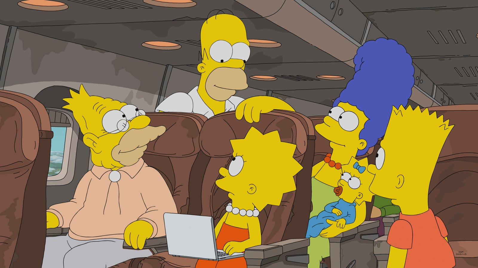 The Simpsons finds the sweet spot as Grampa confronts an old wrong
