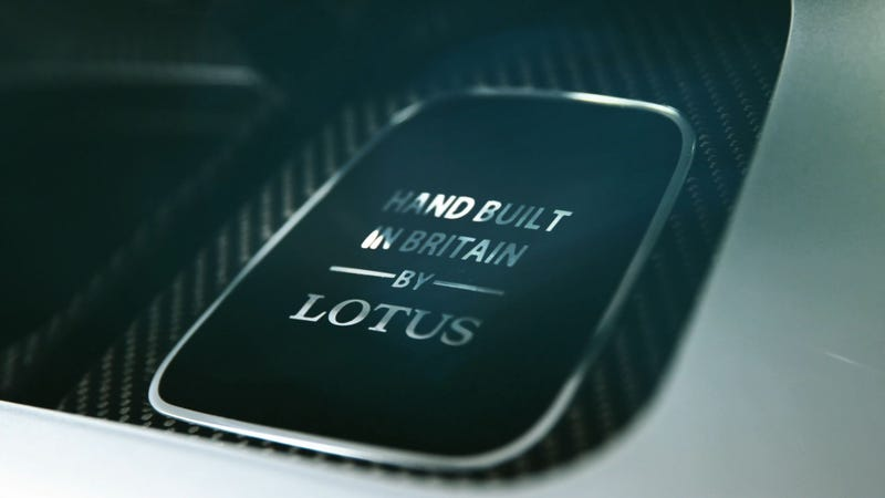 Illustration for article titled The New Lotus Electric Hypercar Could Be Called 'Evija'