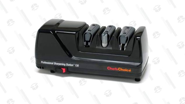 Get Knife Edges Sharp Enough To Cut A Man With The Help Of Chef s Choice Electric Sharpener