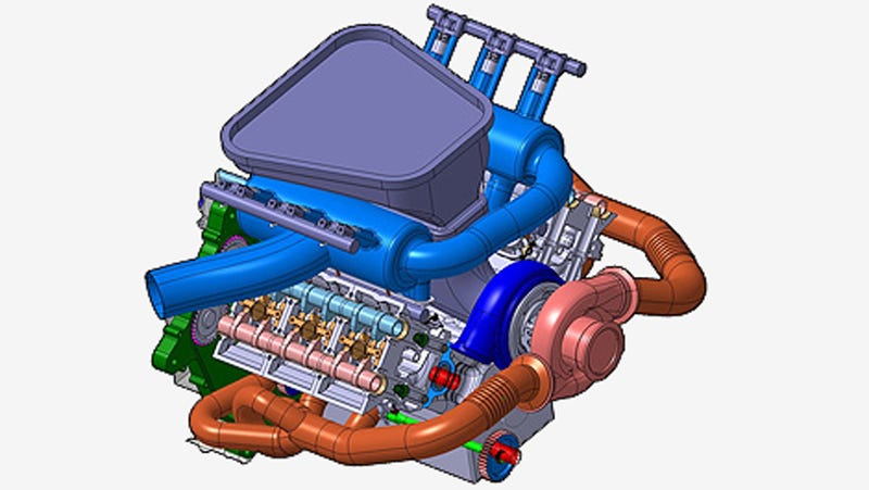 Illustration for article titled Can Anyone Explain What's Going On With F1's Insane Turbo Engines?