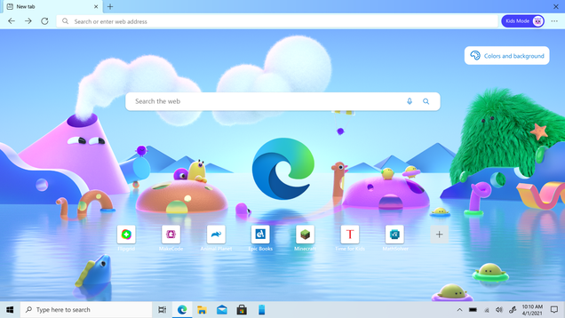 Microsoft Edge Adds a Kids Mode for Parents Worried About Their Shared Devices