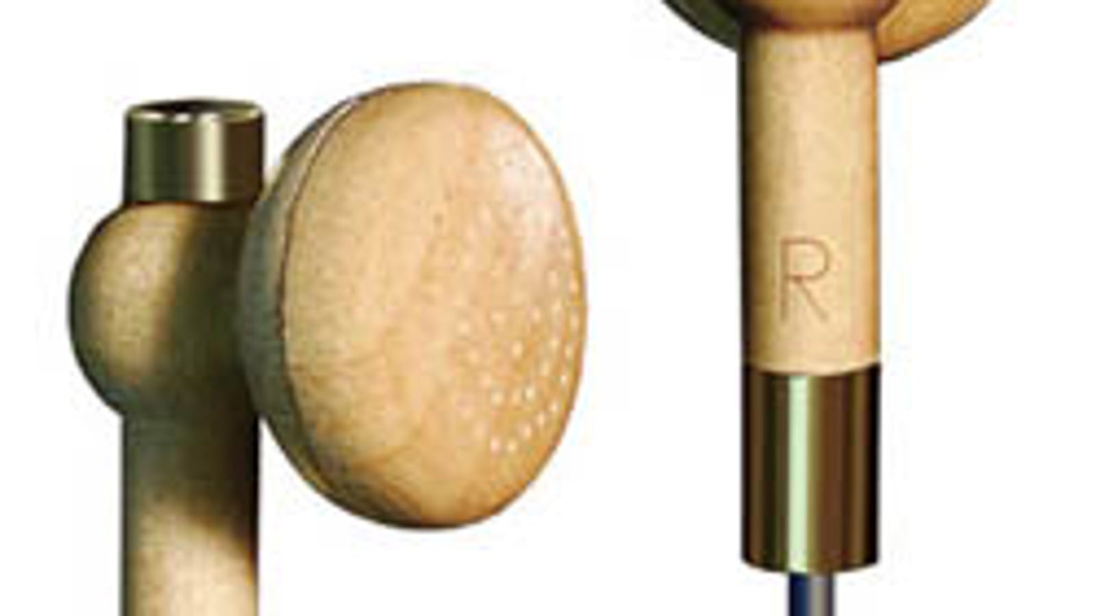 bose soundtrue ultra earbuds - Wooden Earbuds Would Make for a Nasty Splinter