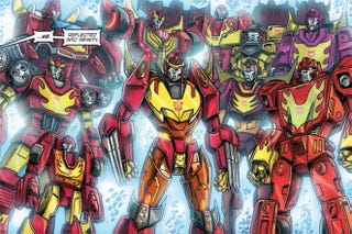 Illustration for article titled Transformers Already Takes Place In A Shared Universe