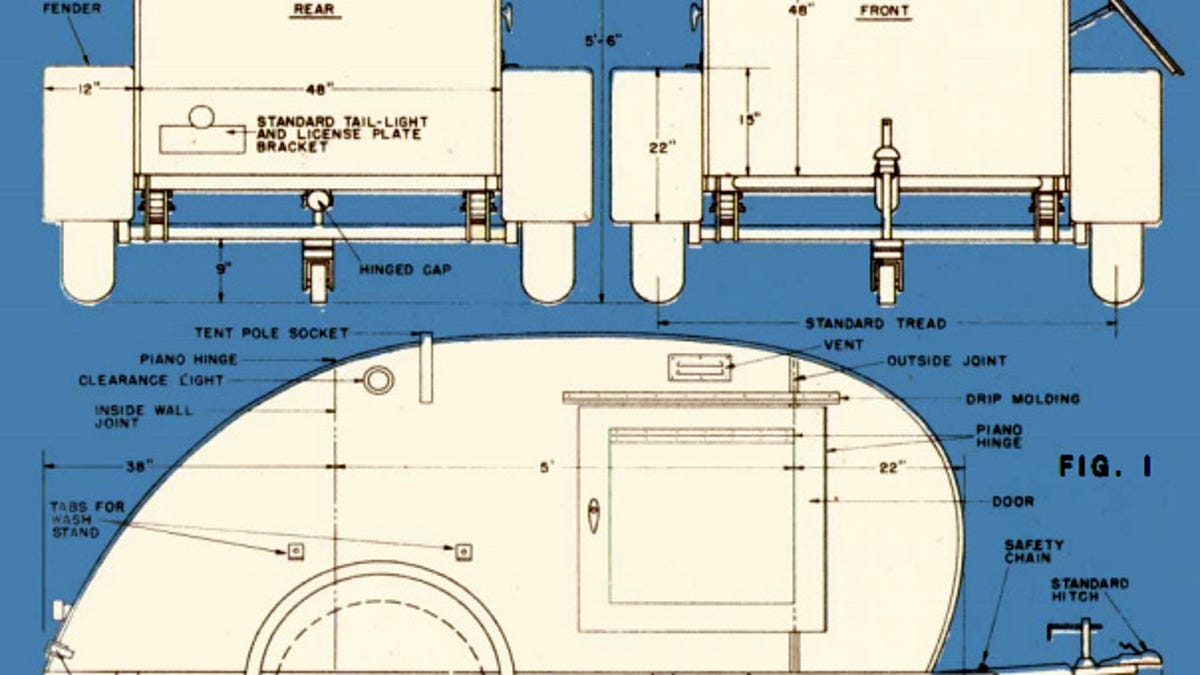 How To Build A Teardrop Trailer For Two Utility Schematics