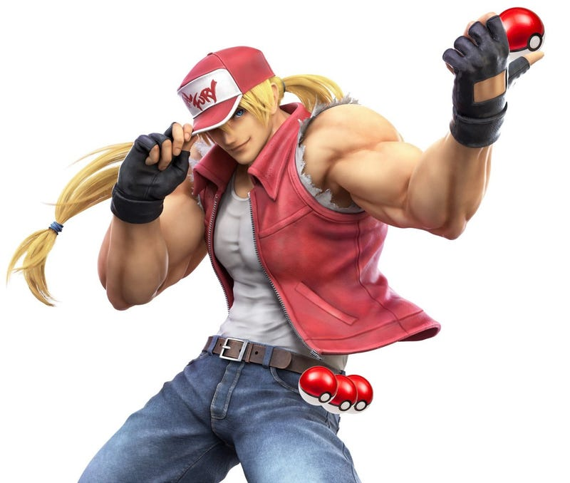 Terry From Fatal Fury Is Being Compared To A Macho Pokémon Trainer in Japan