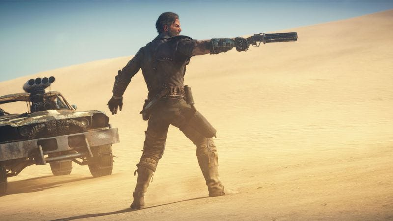 Illustration for article titled Here's how to build a better Mad Max game