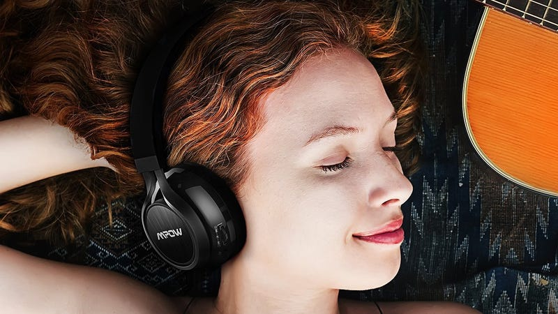 Mpow Thor Over-Ear Bluetooth Headphones, $20 with code AWTNX83J