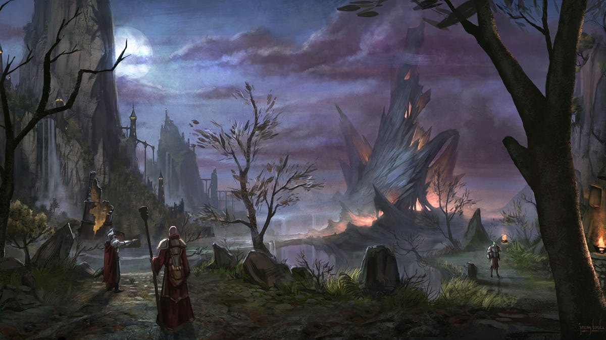 The Elder Scrolls Online is Not as World of Warcraft as You