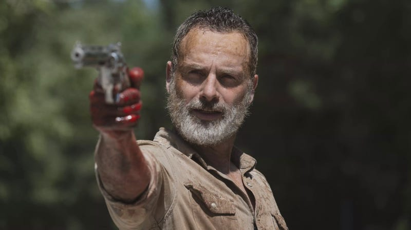 Rick is gone but not forgotten from The Walking Dead.