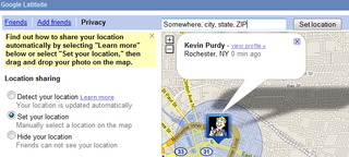 Illustration for article titled Google Maps Finds Your Nearby Friends with Latitude