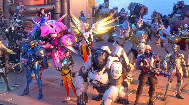 Illustration for article titled Overwatch por fin llega a Nintendo Switch en octubre