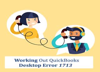 Working Out QuickBooks Desktop Error 1713
