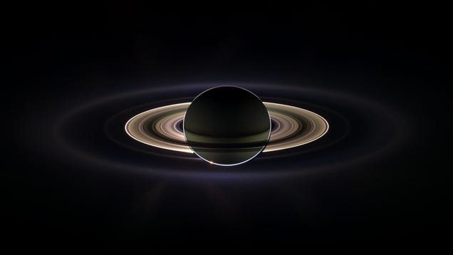 Ammonia May Lurk in the Ice of Saturn's Moons, a Clue to Possible Oceans