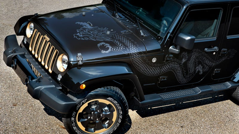 Illustration for article titled Jeep® Introduces New 2014 Wrangler Dragon Edition
