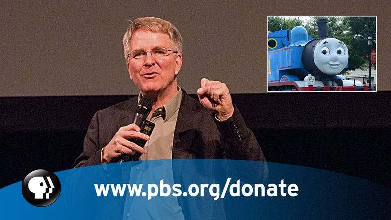 Gotta Pay The Bills: PBS Just Got Really Desperate During A Pledge Drive And Offered Up One Night Of Passion With Thomas The Tank Engine