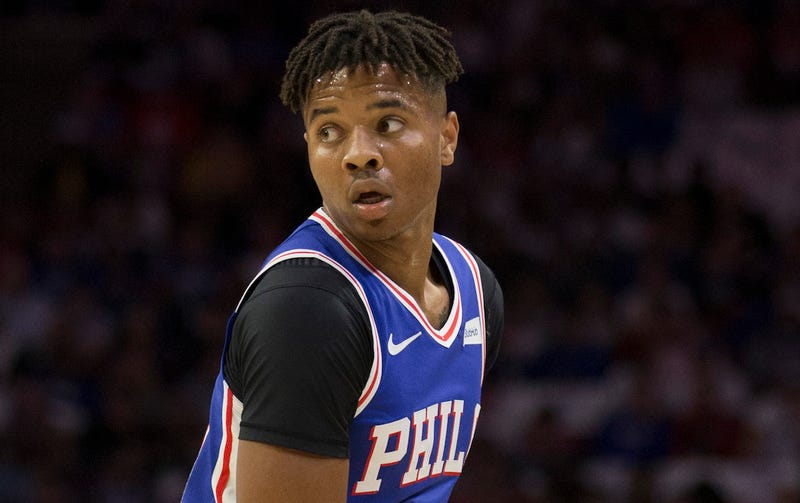 Illustration for article titled Markelle Fultz Is Still Struggling, But He Finally Made A Three
