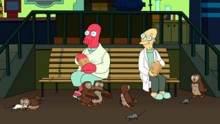 Illustration for article titled Futurama reveals more than we ever wanted to know about Dr. Zoidberg