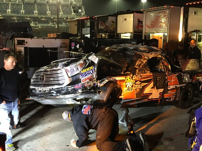 Chris Bells' NCWTS Truck after tonights Daytona Race