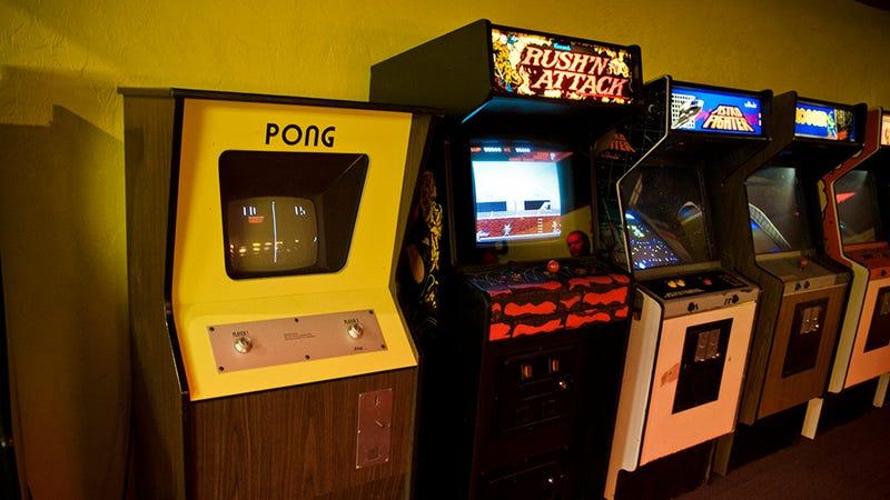Photo: Wikipedia. The Classic Arcade Cabinet ...