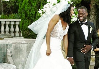 Kevin Hart and Eniko Parrish in August 2016Kevin Hart via Instagram