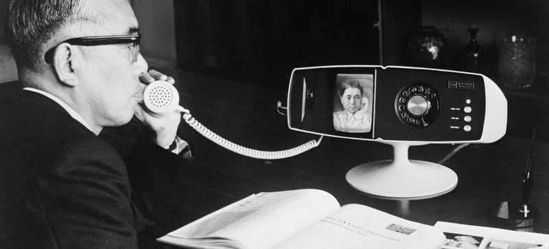 Illustration for article titled What's the Generic Word For Skype? Videophone? Video Chat?