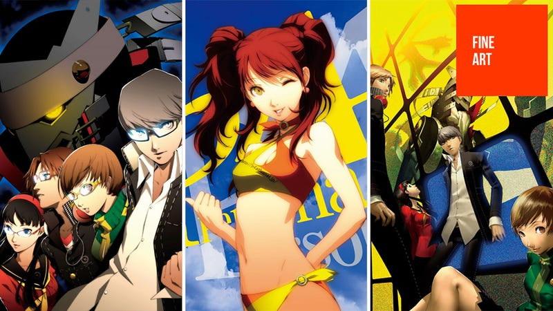 Illustration for article titled Exclusive: The Art of Persona 4