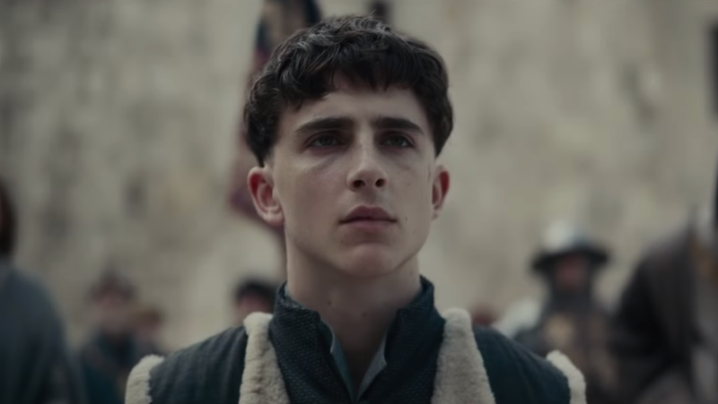 Timothée Chalamet's Medieval Bowl Cut Seems to Have Stressed Him Out