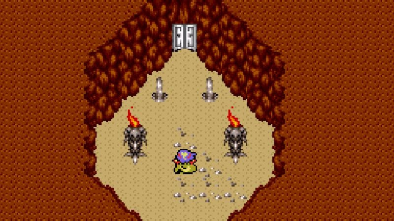 Illustration for article titled In Final Fantasy IV, the brutality inside a sealed cave sets the stage for loss